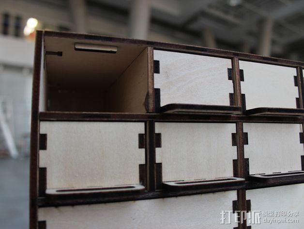 定制化零件盒 3D模型  图5