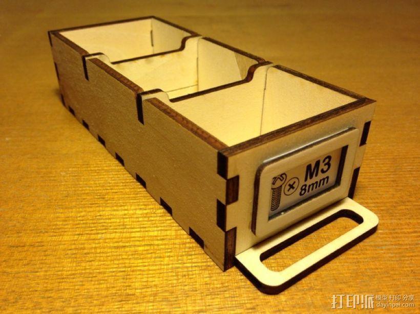 定制化零件盒 3D模型  图9