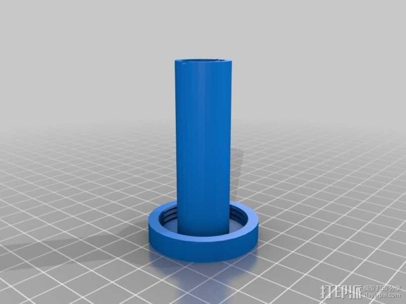 乳化切削油 存放桶 3D模型  图3