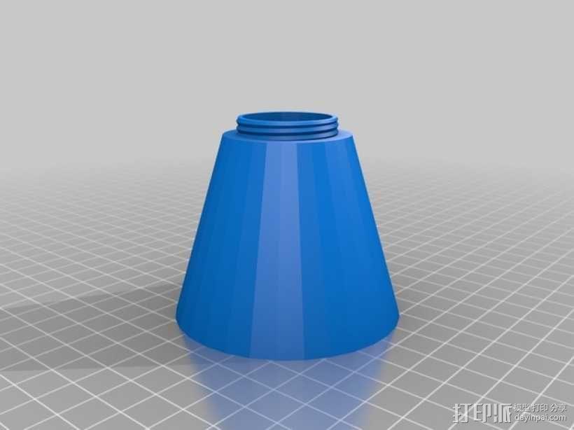 乳化切削油 存放桶 3D模型  图2