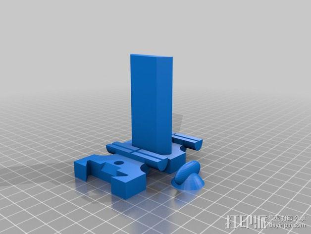 虎钳夹  3D模型  图2