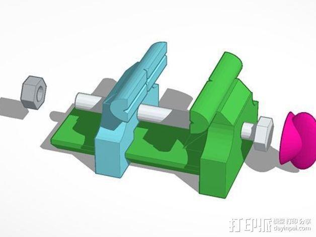 虎钳夹  3D模型  图5