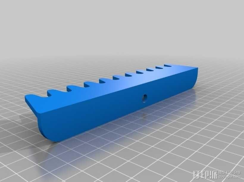 螺旋扳手收纳架 3D模型  图2