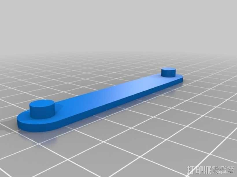 螺旋扳手收纳架 3D模型  图3
