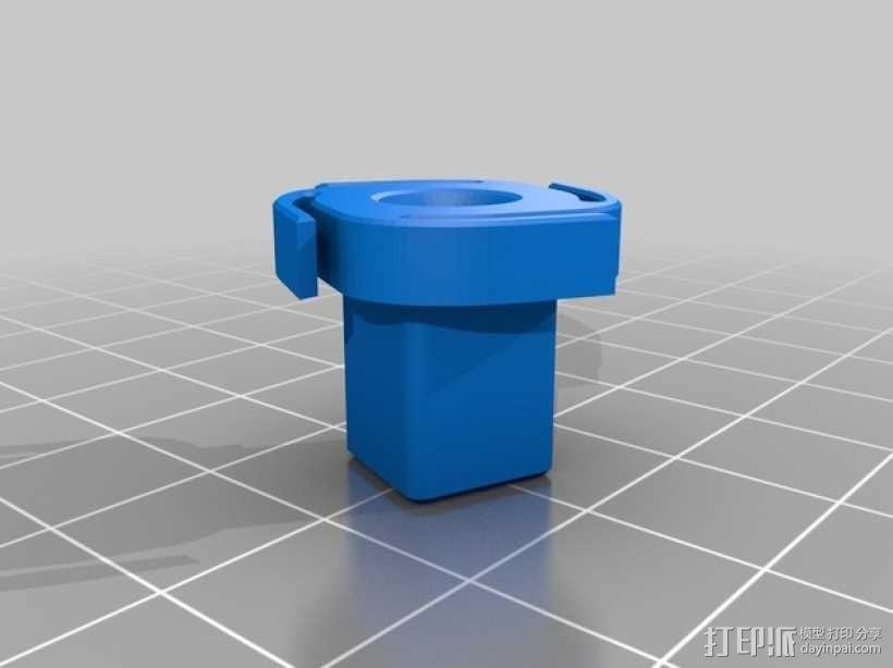 棘齿扳手把手 3D模型  图5