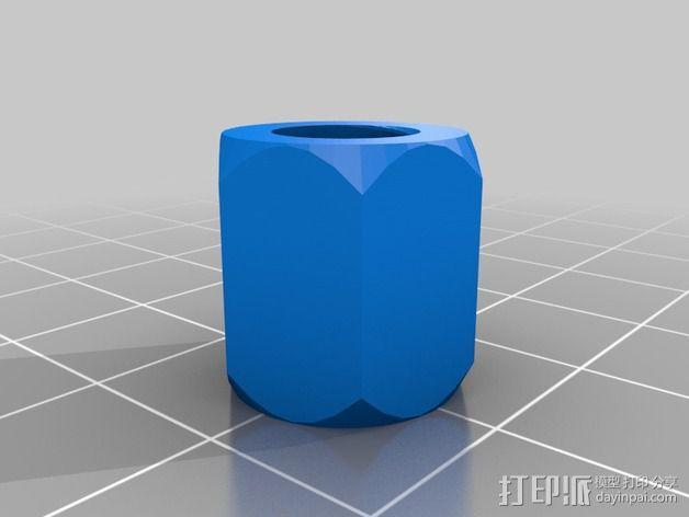M8螺丝 3D模型  图4