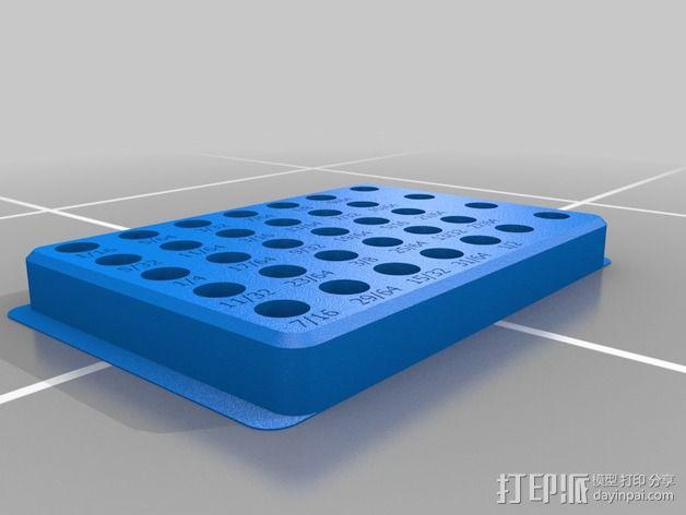 3C有缝夹套架 3D模型  图2