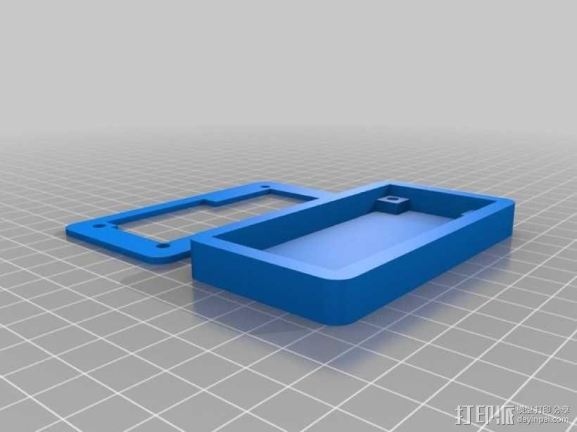 LCD显示器外壳 3D模型  图1