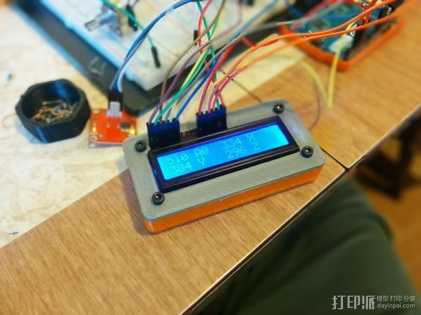 LCD显示器外壳 3D模型  图2
