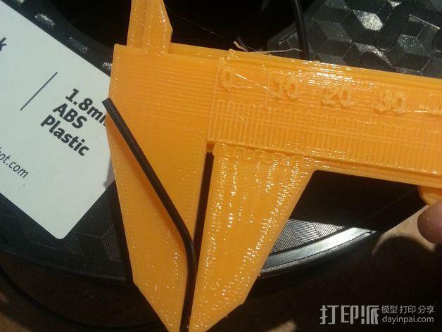 定制化卡尺 3D模型  图3