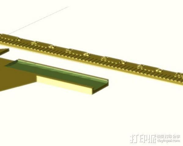定制化卡尺 3D模型  图1