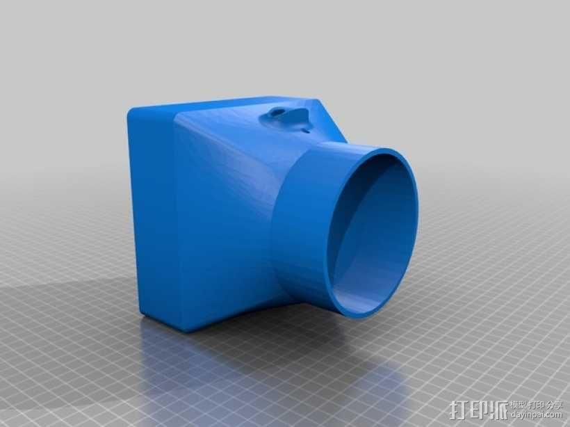 排烟机/排烟装置 3D模型  图4