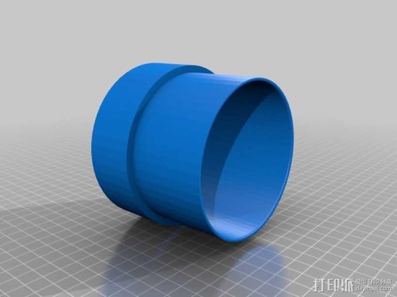 排烟机/排烟装置 3D模型  图6