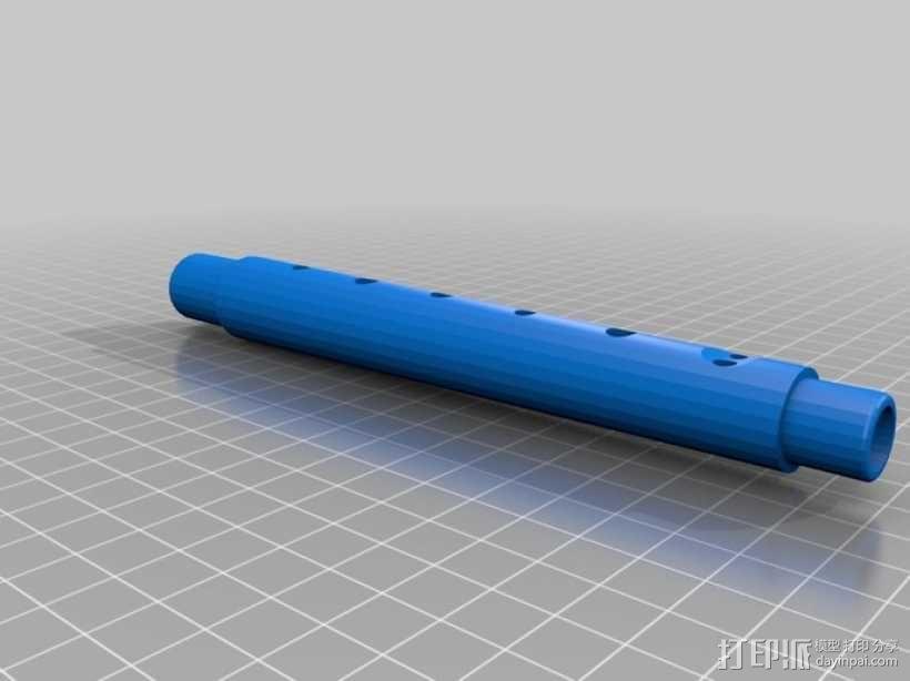 竖笛/长笛 3D模型  图7