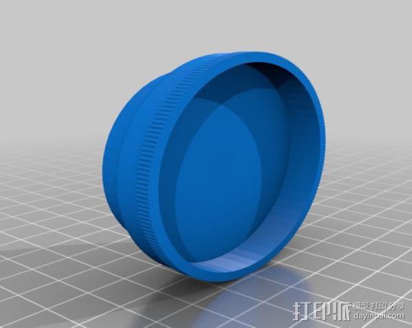 草本植物研磨机 3D模型  图4