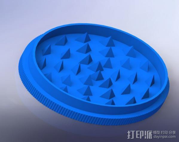 草本植物研磨机 3D模型  图2