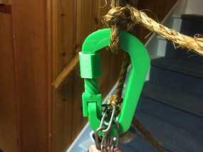 竖钩 3D模型