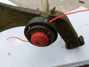 重型割草机凹凸头旋钮 3D模型