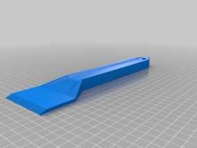 多功能刮刀  3D模型