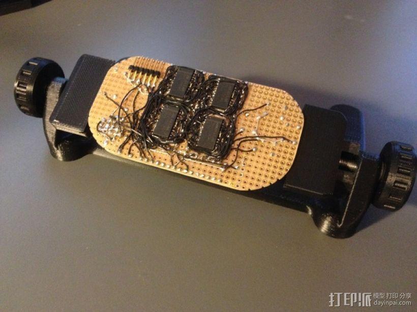 PCB虎钳 3D模型  图6