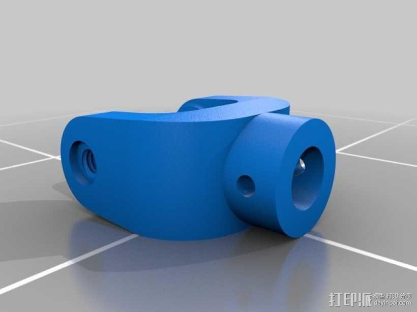 万向接头 3D模型  图3
