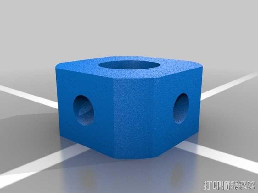 万向接头 3D模型  图5
