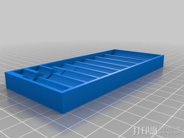 套接口收纳架 3D模型  图7