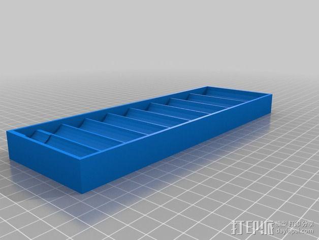 套接口收纳架 3D模型  图6