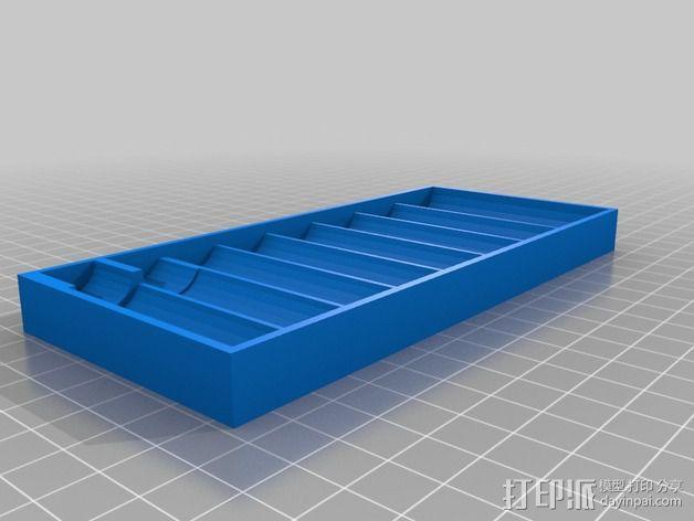 套接口收纳架 3D模型  图10