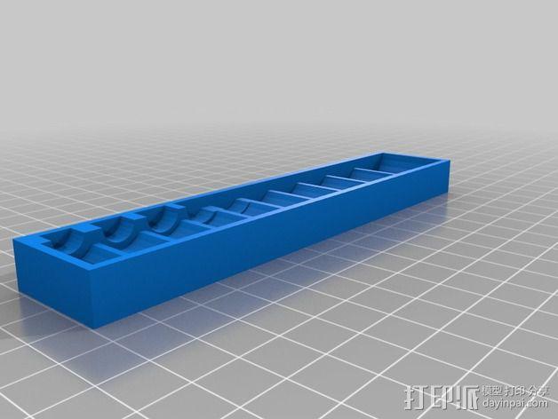 套接口收纳架 3D模型  图13