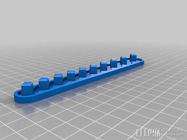 套接口收纳架 3D模型  图12