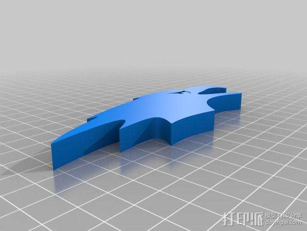 秃鹰 开瓶器 3D模型  图2