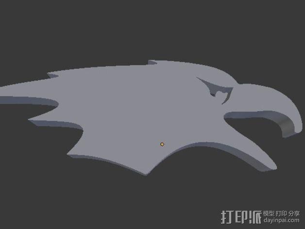 秃鹰 开瓶器 3D模型  图5