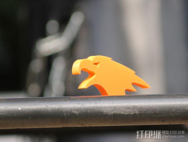 秃鹰 开瓶器 3D模型  图4