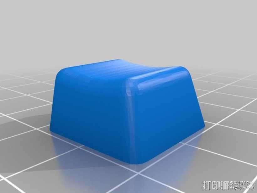 机械键盘按键键帽 3D模型  图2