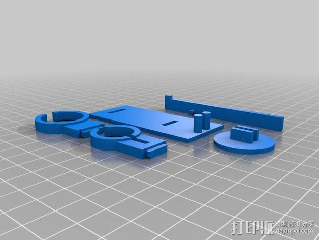迷你液体喷雾器 3D模型  图2