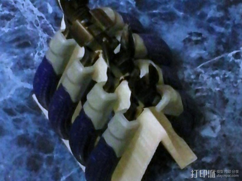 老虎钳置放架 3D模型  图1