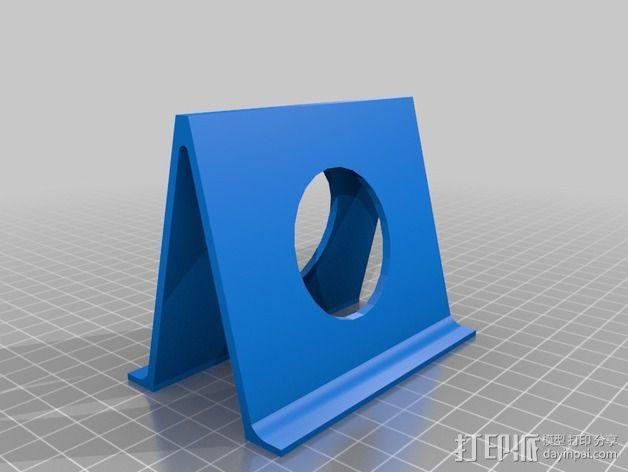 老虎钳置放架 3D模型  图2