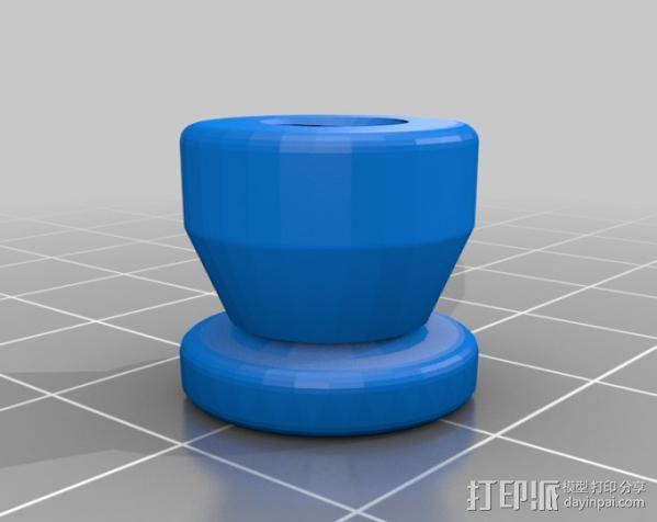 通用C形夹 3D模型  图3