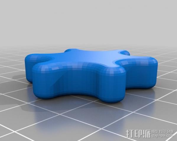 通用C形夹 3D模型  图2