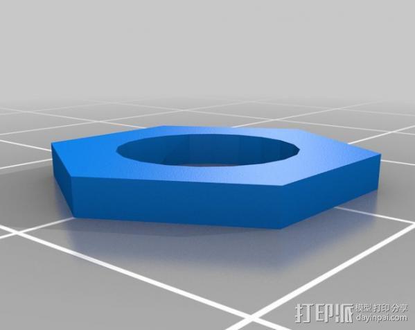 通用C形夹 3D模型  图5
