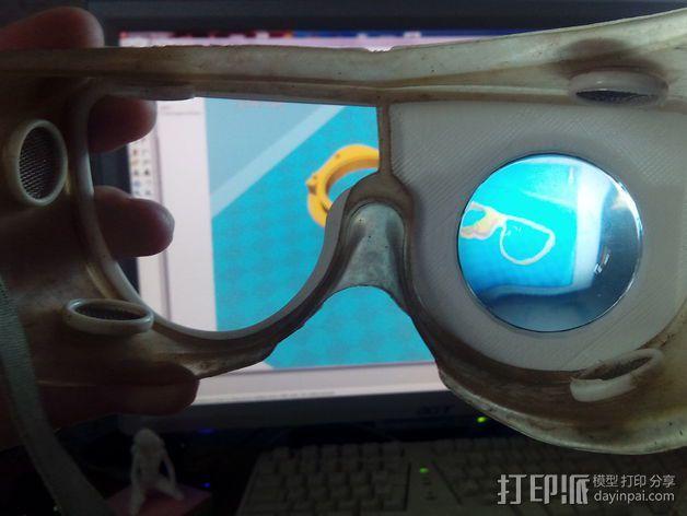 便携式GoPro相机架 3D模型  图5