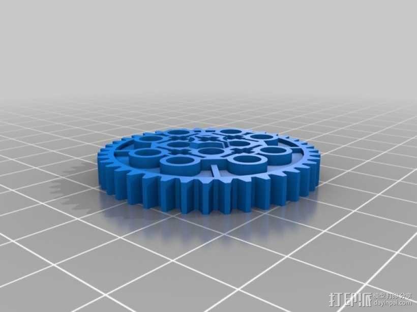 常见齿轮组 3D模型  图3