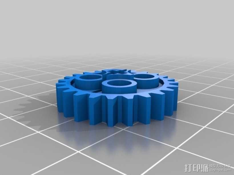常见齿轮组 3D模型  图4