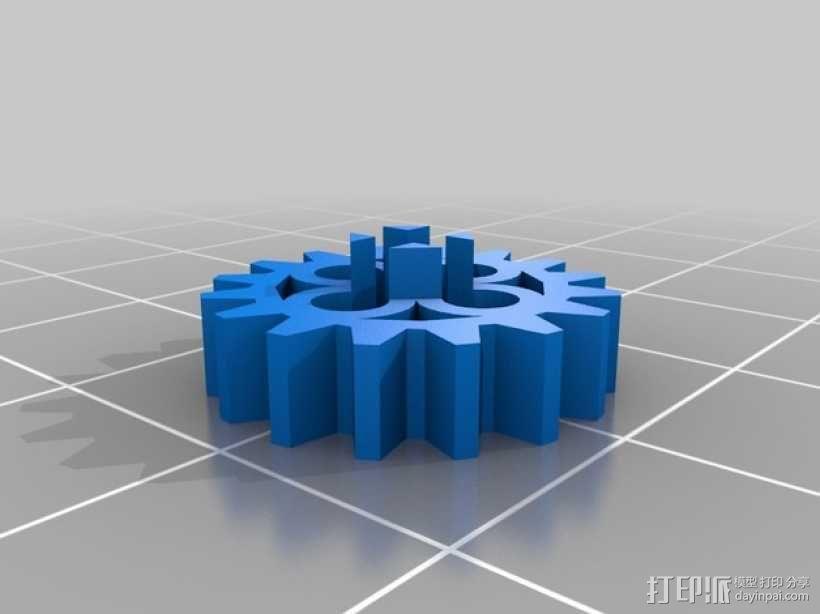 常见齿轮组 3D模型  图5