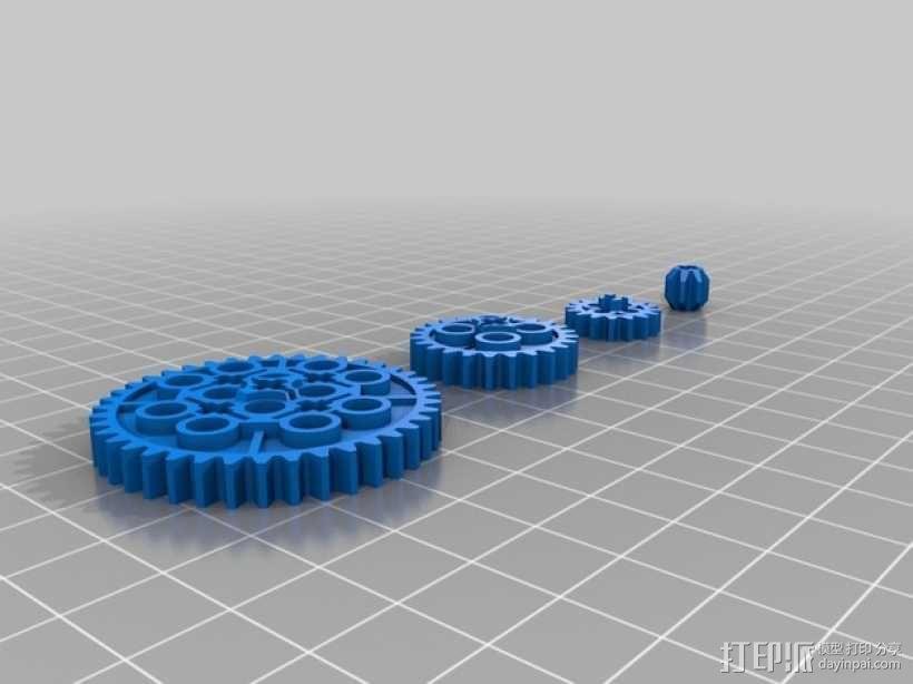 常见齿轮组 3D模型  图6