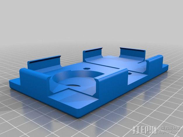 诺基亚1020手机架 3D模型  图2