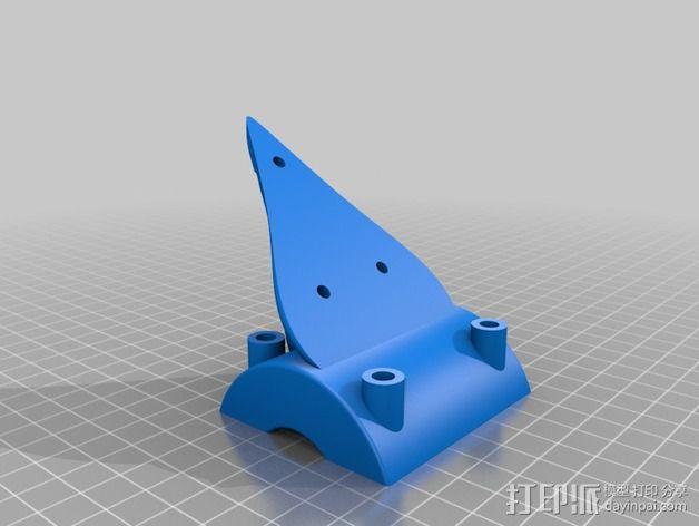 诺基亚1020手机架 3D模型  图3