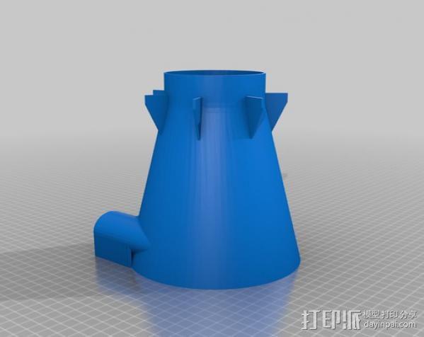 shopvac旋风分离器 3D模型  图2