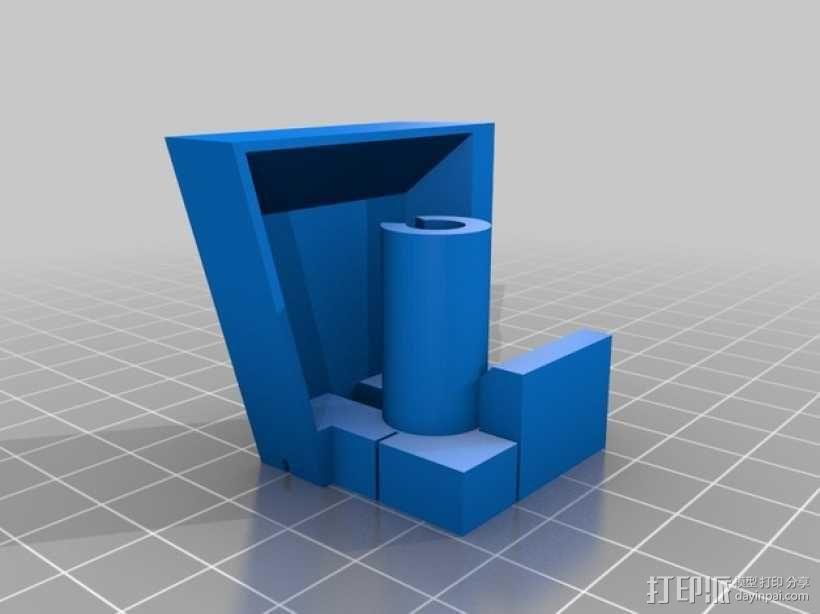 带有除尘装置的钻头导向装置 3D模型  图2